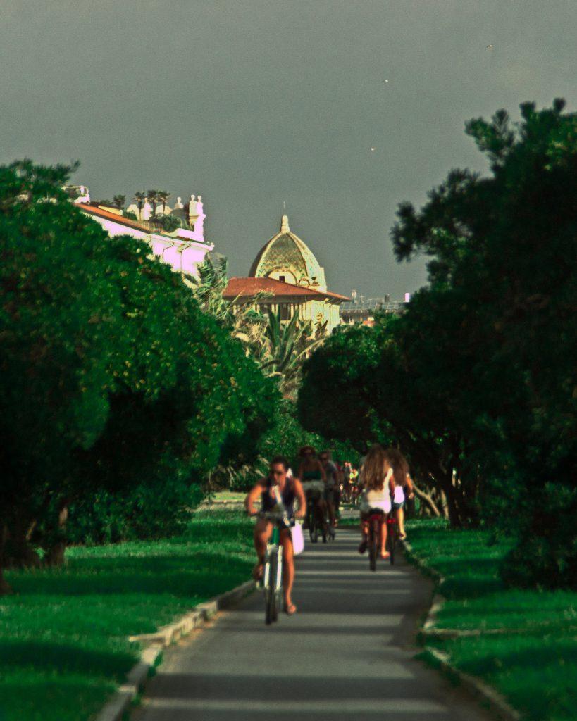 La pista ciclabile di Viareggio prolungamento della Passeggiata